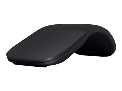 Microsoft Arc Mouse - Mouse - optical - 2 buttons - wireless - Bluetooth 4.0 - black - commercial