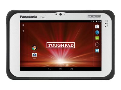 "Panasonic Toughpad FZ-B2 - Tablet - Android 6.0.1 (Marshmallow) - 32 GB eMMC - 7"" (1280 x 800) - barcode reader - microSD slot - 4G - AT&T - with Toughbook Preferred Service"