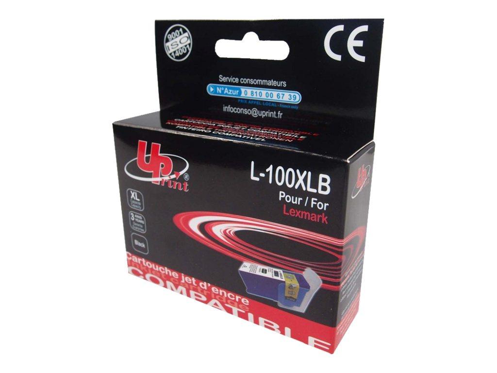 UPrint L-100XLB - taille XL - noir - cartouche d'encre (équivalent à : Lexmark 100XLA)