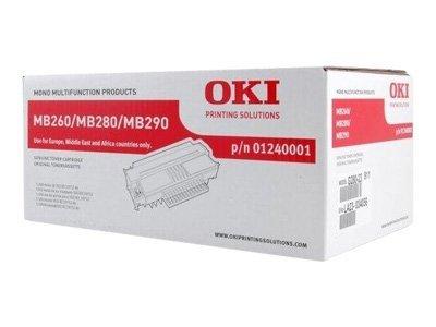 OKI - Noir - original - cartouche de toner - 1240001
