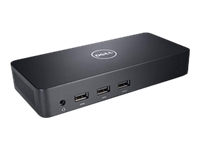 Dell Universal Dock - D6000 - Docking station - (USB) - GigE - 130 Watt - for Inspiron 14 7460; Latitude 12 52XX, 13 3380, 3189, 3480, 3580, 5280, 5480, 7280, 7480