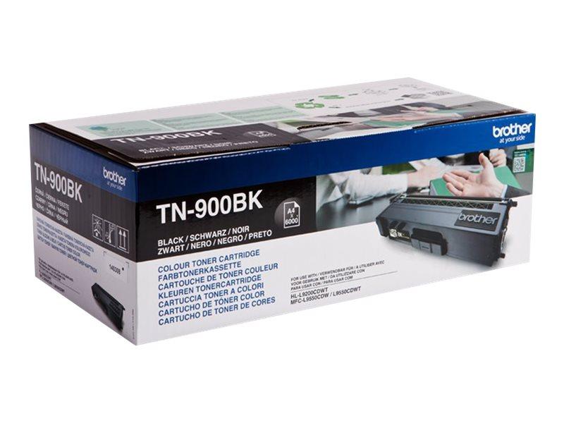 Brother TN900BK - noir - originale - cartouche de toner