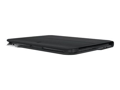 Logitech Ultrathin Keyboard Folio - Klávesnice a pouzdro - Bluetooth - španělština - pro Samsung Galaxy Tab 4 (10.1 palec)