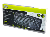 Gear Head Wireless Desktop & Optical Mouse KB5150W