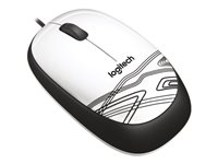 LOGITECH, Mouse M105 white / USB