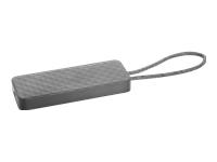 HP USB-C mini Dock - Docking station - USB-C - VGA, HDMI - GigE - US - for EliteBook 1040 G4; EliteBook x360; Pro x2; ProBook 430 G5, 440 G5, 450 G5, 470 G5