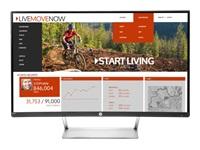 HP N270c - LED monitor - curved - 27