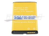DLH Energy Batteries compatibles YB-PA407