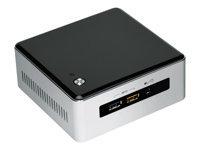 Intel Next Unit of Computing Kit NUC5i3RYH - Barebone - mini PC - 1 x Core i3 5010U / 2.1 GHz - HD G
