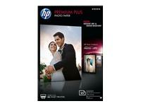 HP Premium Plus Photo Paper - papier photo brillant - 25 feuille(s)