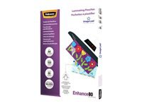 Fellowes 80 micron 100 A4 (210 x 297 mm) laminerings poser
