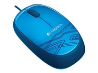 LOGITECH, Mouse M105 blue / USB