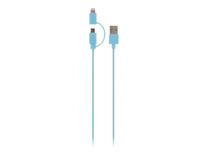 T'nB Câble de données /d'alimentation - Lightning / USB - 1 m