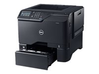 Dell Color Smart Printer S5840cdn - Printer - color - Duplex - laser - A4/Legal - 1200 x 1200 dpi - up to 50 ppm (mono) / up to 50 ppm (color) - capacity: 650 sheets - USB 2.0, Gigabit LAN, USB 2.0 host