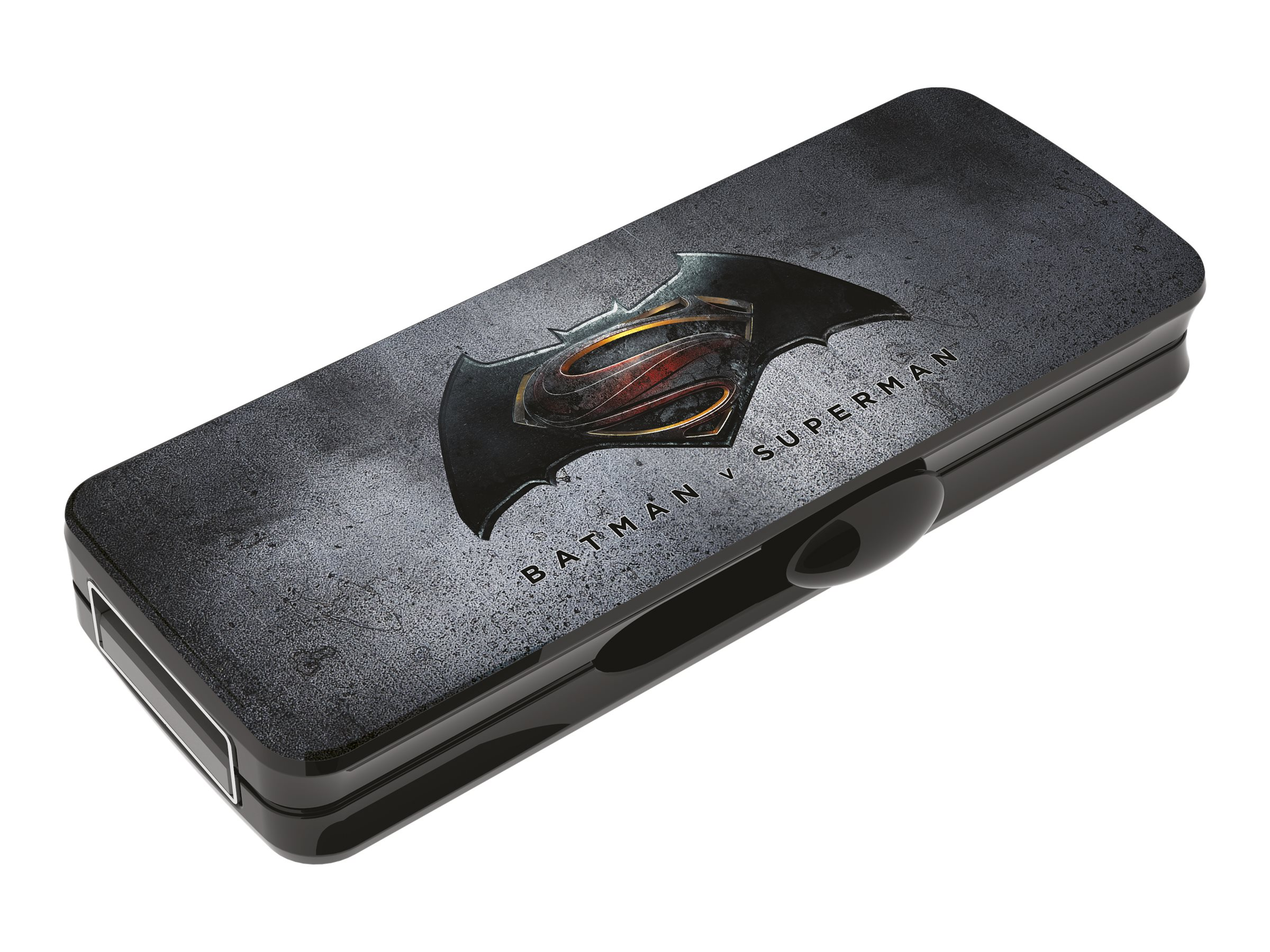 EMTEC M700 Batman v Superman - Clé USB - 16 Go - USB 2.0 - à l'unité ou par lot de 2