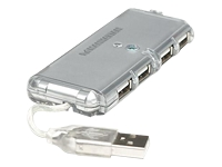 Manhattan Hi-Speed USB 2.0 Pocket Hub