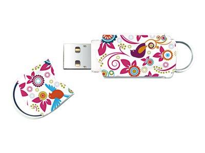 Integral Xpression Birds - Jednotka USB flash - 64 GB - USB 2.0