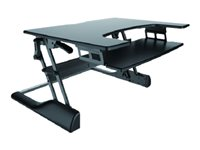 NS-WS100BL stand-sit workplace workstand