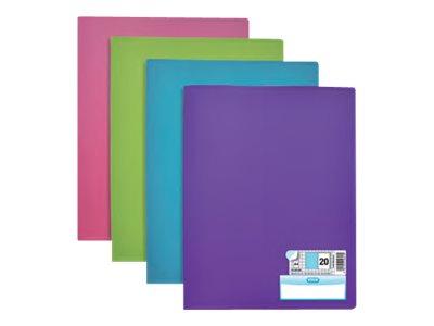 ELBA memphis - Porte vues - 100 vues - A4 - disponible dans différentes couleurs