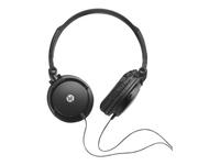 HP H2500 Headset Headset fuld størrelse kabling sort