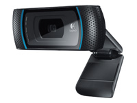 Logitech B910 HD Webcam Webkamera farve 5 MP 1280 x 720 audio USB 2.0