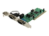 STARTECH - CARDS/HUBS/ADAPTER StarTech.com 2 Port PCI RS422/485 Serial Adapter Card with 161050 UARTPCI2S4851050