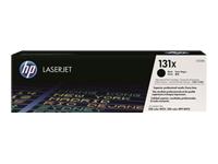 HP 131x - à rendement élevé - noir - originale - LaserJet - cartouche de toner ( CF210X )