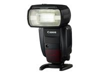 Canon Speedlite 600EX-RT - Hot-shoe clip-on flash - 60 (m) - for EOS 200, 5D, 77, 800, 9000, Kiss X9, Kiss X9i, M5, Rebel SL2, Rebel T7i; PowerShot G1