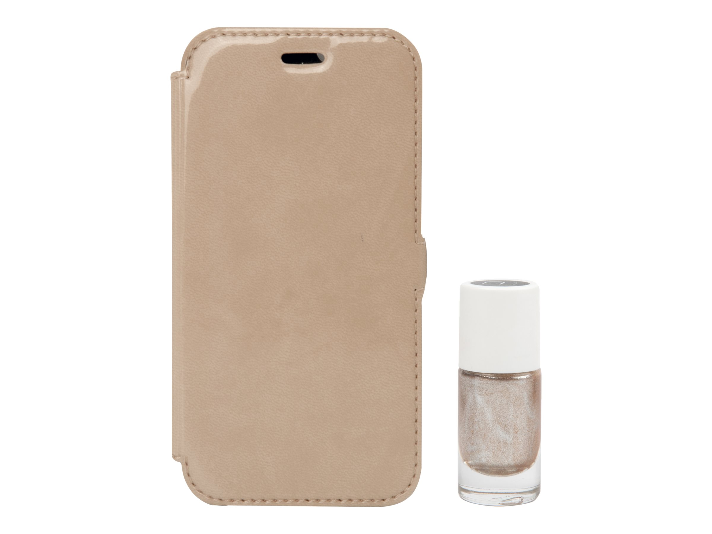 MUVIT LIFE Pack - Protection à rabat pour iPhone 6, 6s - beige