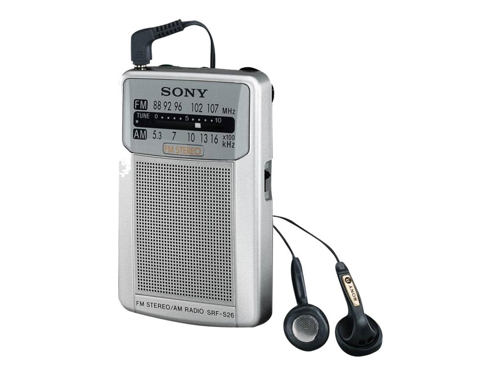 SONY WALKMAN SRF-S26 S - RADIO <SPAN STYLE=