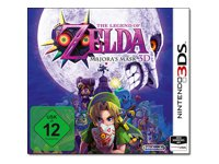 The Legend of Zelda Majora's Mask 3D Nintendo 3DS Tysk