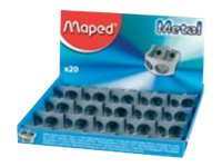 Maped Classic - Taille- crayon - 2 trous - métal
