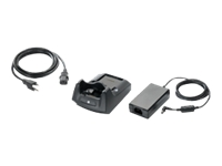 Motorola Single Slot USB Charging Cradle Kit - Power adapter + battery charger - United States - for Motorola MC55, MC5574, MC5590, MC55A0, MC55A0-HC, MC65; Zebra MC55A0, MC67