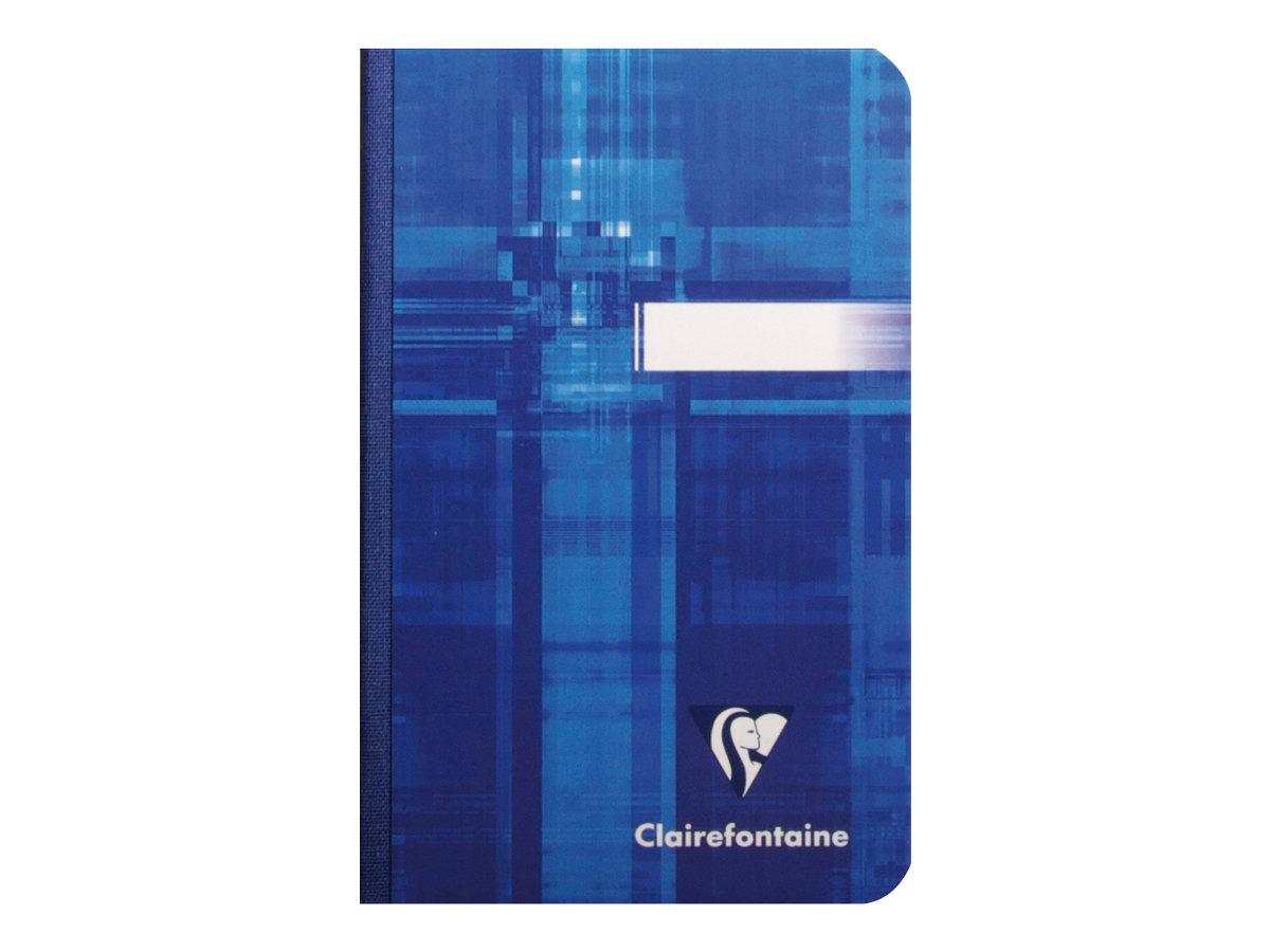 Clairefontaine A7+ - Cahier - 9 x 14 cm - 192 pages - petits carreaux - couvertures aux couleurs assorties