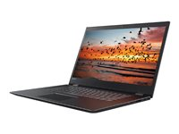 "Lenovo Flex 5 1570 80XB - Flip design - Core i5 7200U / 2.5 GHz - Windows 10 - 8 GB RAM - 256 GB SSD - 15.6"" IPS touchscreen 1920 x 1080 (Full HD) - HD Graphics 620 - 802.11ac, Bluetooth - onyx black"