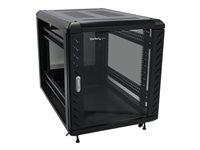 STARTECH - SERVER MANAGEMENT StarTech.com 12U 36in Knock-Down Server Rack Cabinet with CastersRK1236BKF