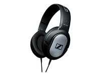 Sennheiser HD 201 Hovedtelefoner fuld størrelse 3.5 mm jack sort, sølv