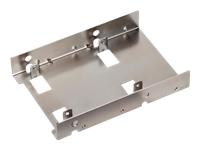 """SilverStone SST-SDP08 Hus til lagringsenhed 2.5"""" nikkel"""