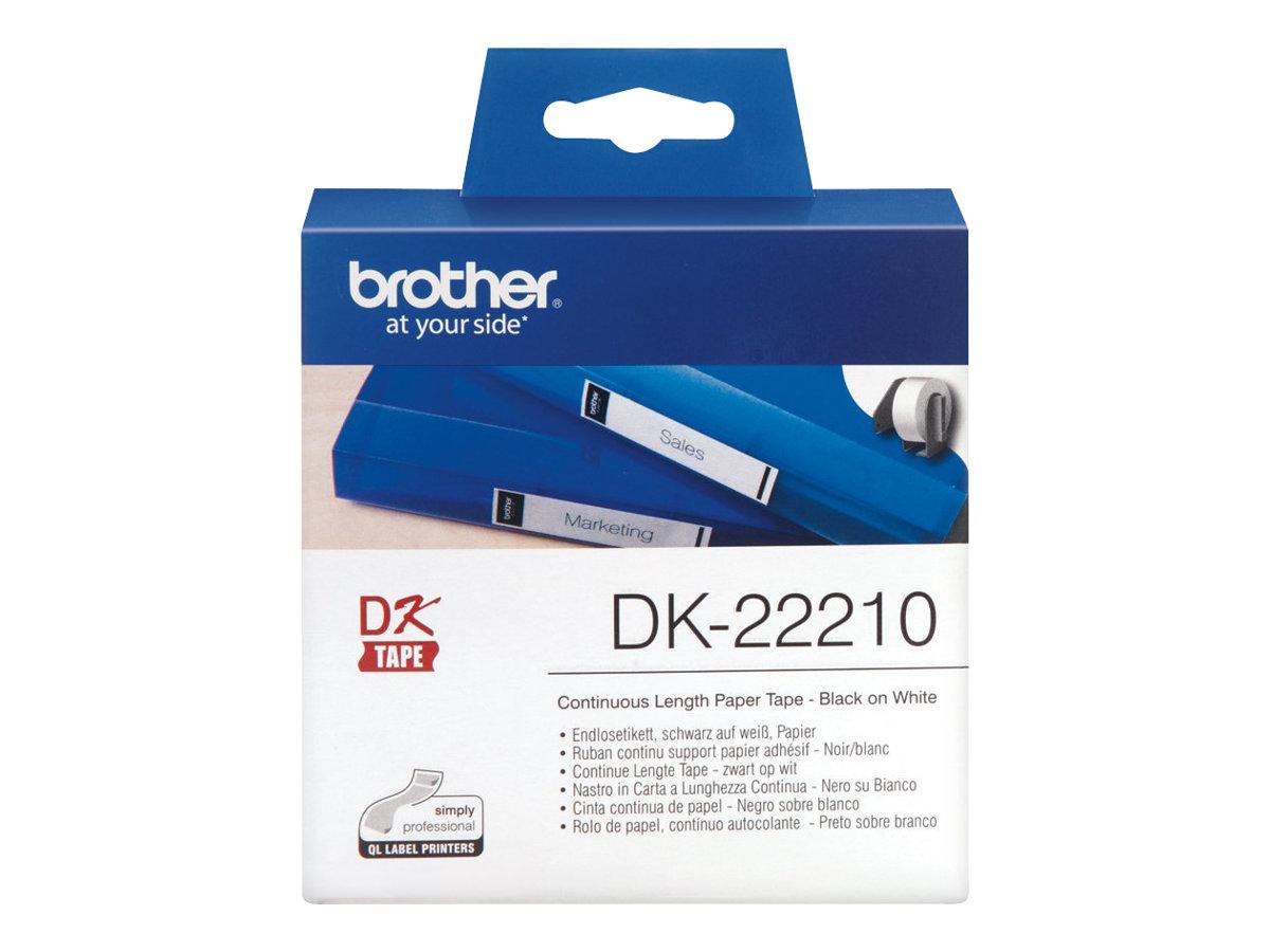 Brother DK-22210 - étiquettes