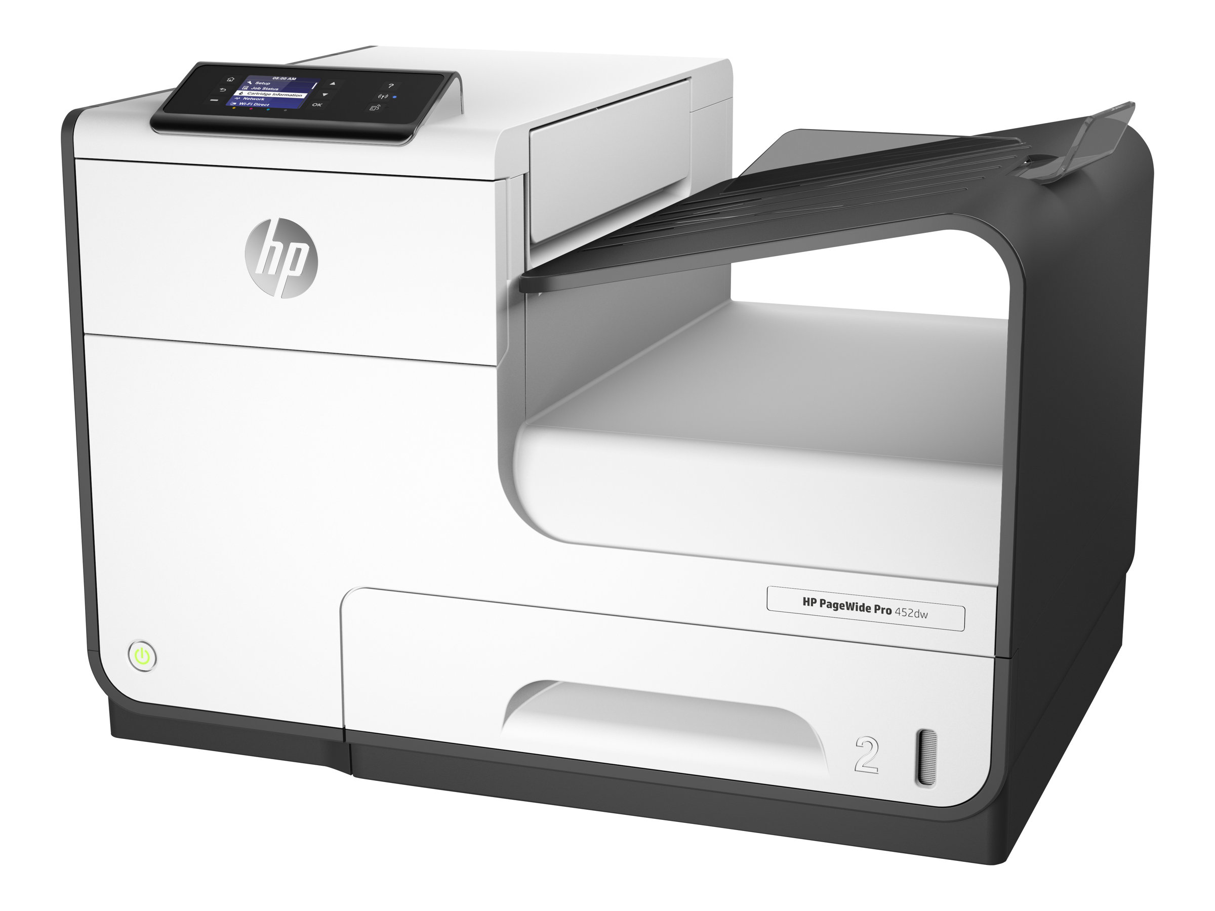 HP PageWide Pro 452dw - imprimante - couleur - large éventail de page