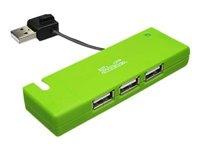 Klip Xtreme KUH-400G - Hub - 4 x USB 2.0