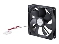 StarTech.com 120x25mm Dual Ball Bearing Computer Case Fan w/ LP4 Connector (FANBOX12) - System fan kit - 120 mm