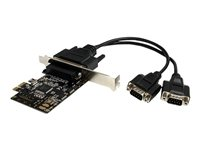 STARTECH.COM  2 Port RS232 PCI Express Serial Card w/ Breakout CablePEX2S553B
