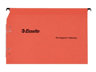 Esselte Orgarex Kori L.M.G - 25 Dossier suspendus - base- V - pour armoire - orange