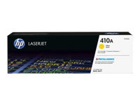 HP 410A - Yellow - original - LaserJet - toner cartridge (CF412A) - for Color LaserJet Pro M452; LaserJet Pro MFP M377, MFP M477