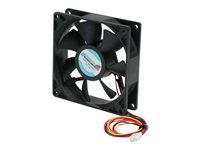 STARTECH - COMPUTER PARTS StarTech.com 92x25mm Ball Bearing Quiet Computer Case Fan w/ TX3 ConnectorFAN9X25TX3L