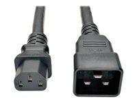 Tripp lite Cable C20 a C13 Servicio Pesado 15A  91cm color N