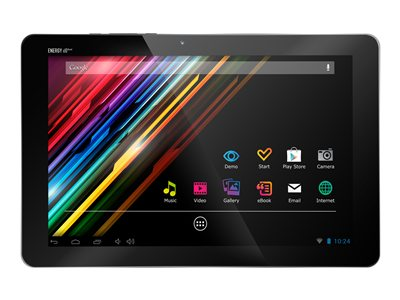 "Energy Tablet x10 Quad 16GB 10.1"" IPS Android 4.1 Ranura para microSD - Wi-Fi - plata"