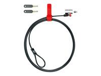 Kensington ClickSafe Keyed Laptop Lock - câble de sécurité