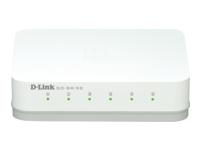 D-Link GO-SW-5G - commutateur - 5 ports - non géré - Ordinateur de bureau